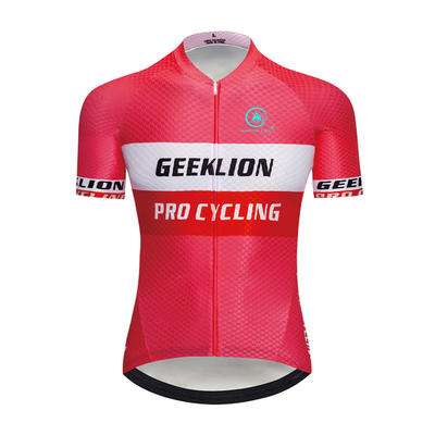 2019 Dry fit cycling jersey geeklion laser cut pro mtb training cycle clothing quick dry bike maillot