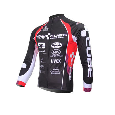 Cube 2020 Winter Thermal Cycling Jersey And Long Bib Pants-cycling