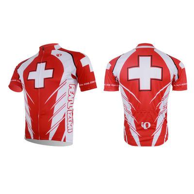 Ip Short Sleeve Cycling Jersey And Short Bib Pants-cycling Clothing