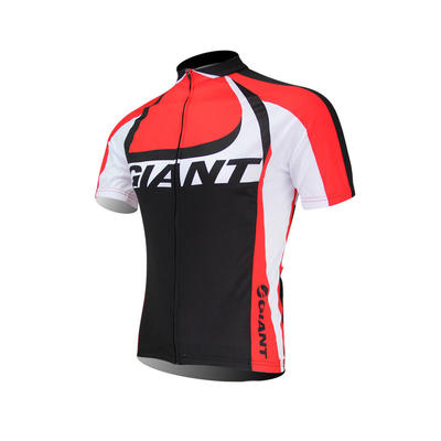 Giant Short Sleeve Cycling Jersey And Short Bib Pants-cycling Clothin