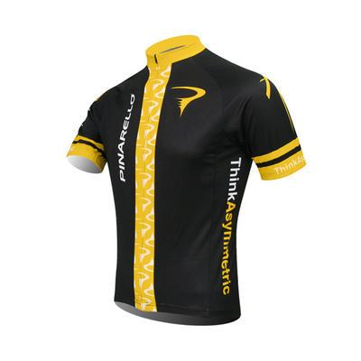 PINARELLO Short Sleeve Cycling Jersey And Short Bib Pants-cycling Clo